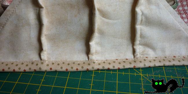 Este es el resultado después de coser