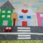 Funda de cojín con costura francesa