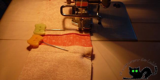 Si preparas todo puedes coser a cadena