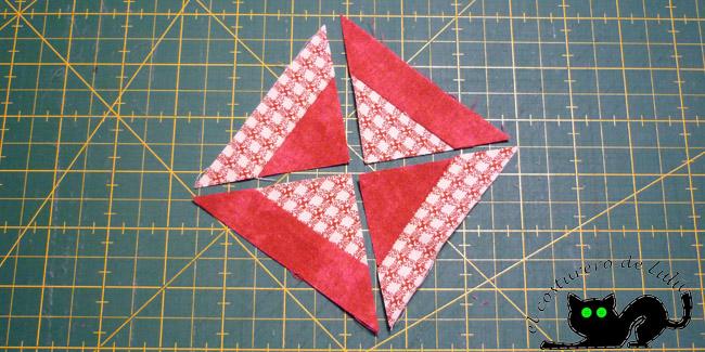 Así nos quedarían los triángulos