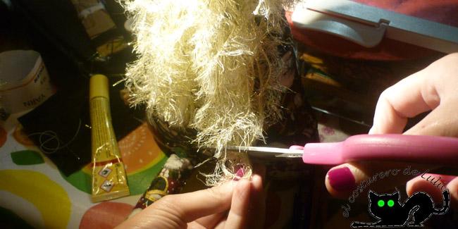 Sesión de peluquería