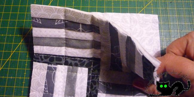 Colocamos los paneles revés con revés
