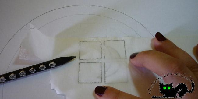 Calcando el boceto