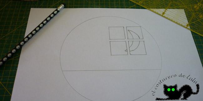 Haciendo el boceto