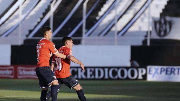 Independiente debutó en la Liga con un triunfo sobre Central Córdoba | El  Crack Deportivo