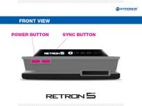 RetroN 5 - Consola de frente