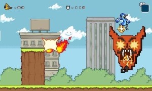 Regular Show Mordecai and Rigby In 8-Bit Land (1)
