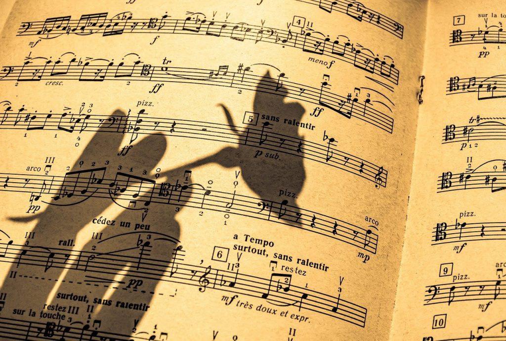 muzyka klasyczna, muzyka poważna, nuty