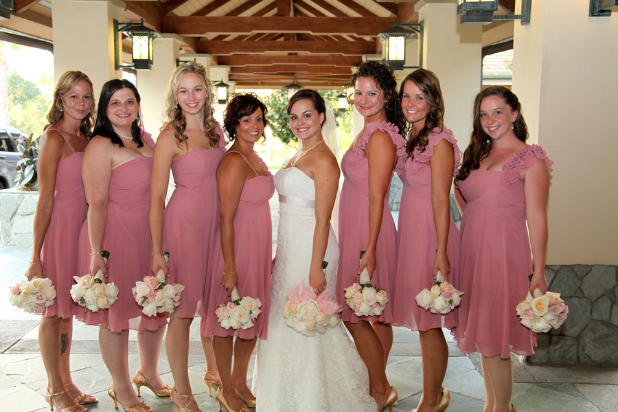 Elegant Pink and Gold Florida Wedding  Every Last Detail