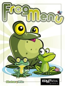 Aquí hay una rana que a lo mejor no debería seguir comiendo, y no miro a nadie.