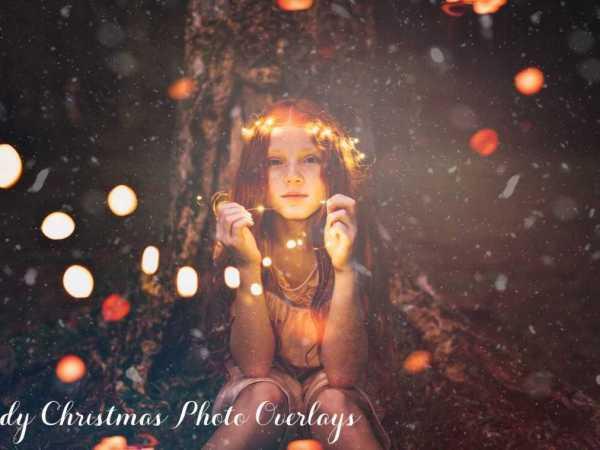 66 Ready Christmas Photo Overlays