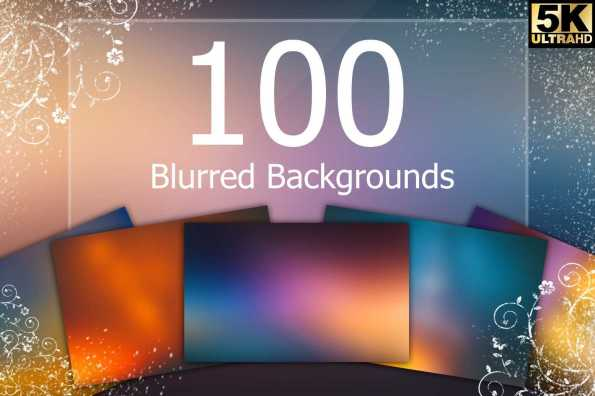 100 Blurred Backgrounds-min