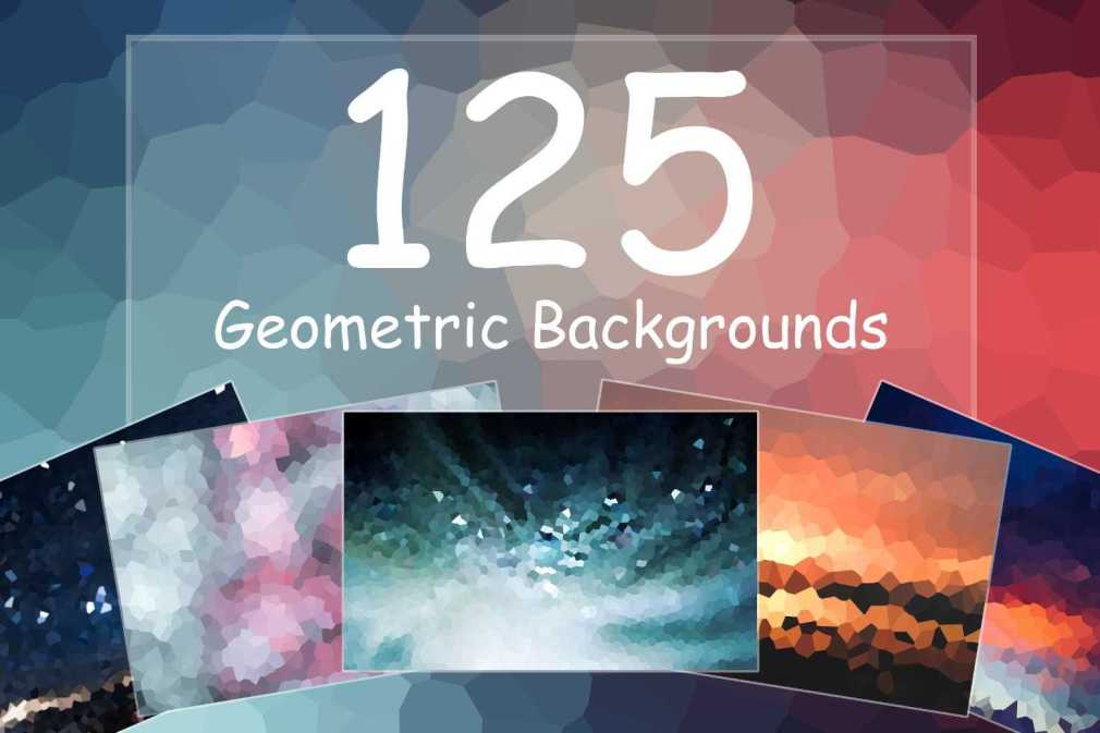 125 Geometric Backgrounds-min