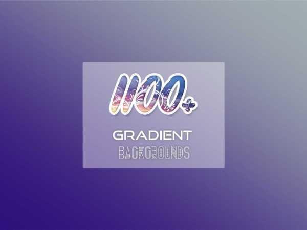 1100+ Gradient Backgrounds