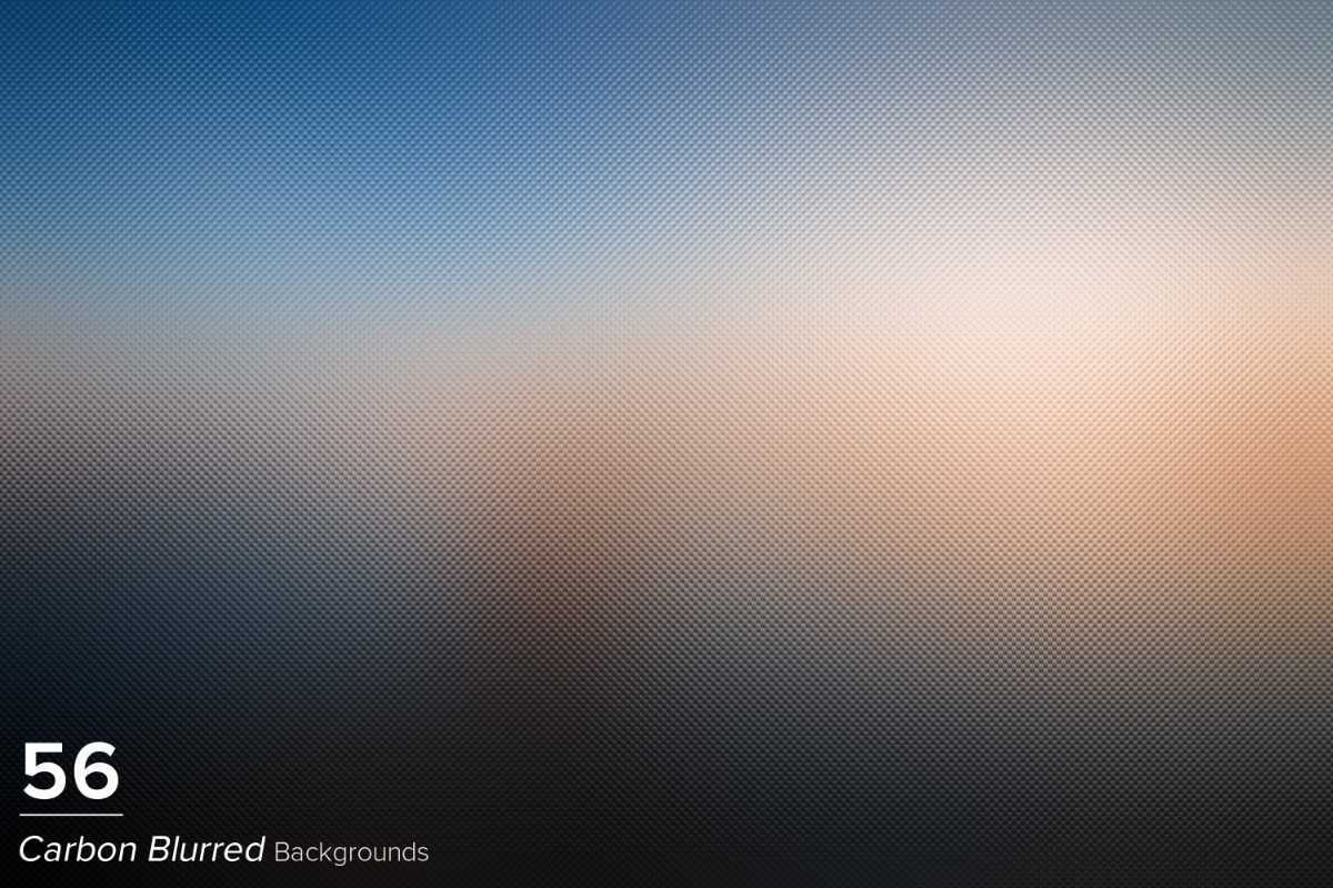 56 Carbon Blurred Backgrounds