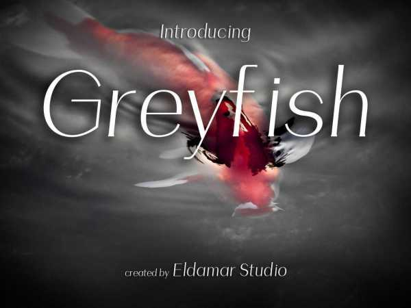 Greyfish Font
