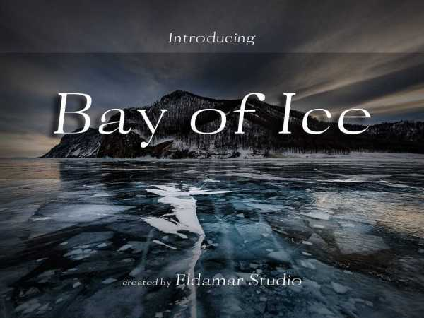 Bay of Ice Font