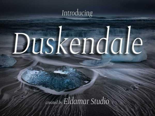 Duskendale Font