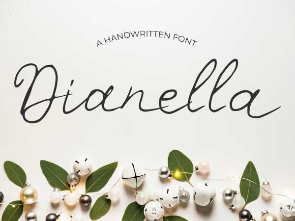 Dianella Font