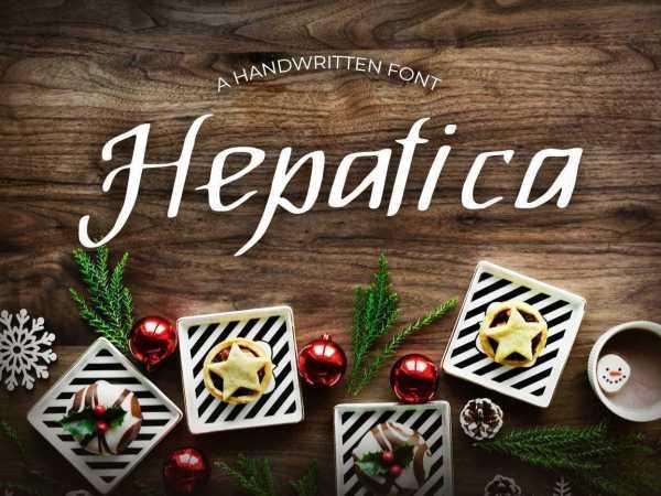 Hepatica Font