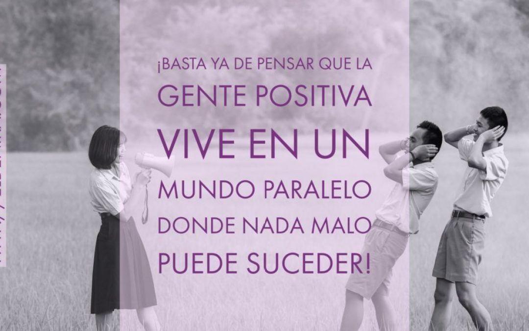Una actitud positiva frente a la vida te ayudará más de lo que crees