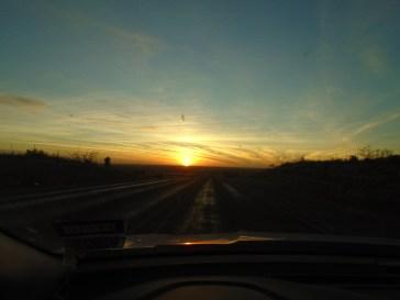 Beautiful Texan sunset