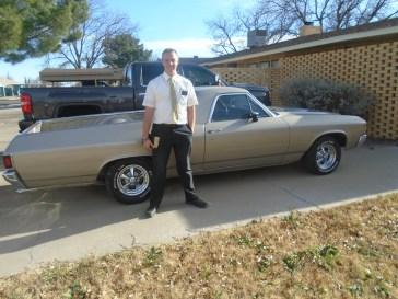 Elder Brown also loves cars and trucks!