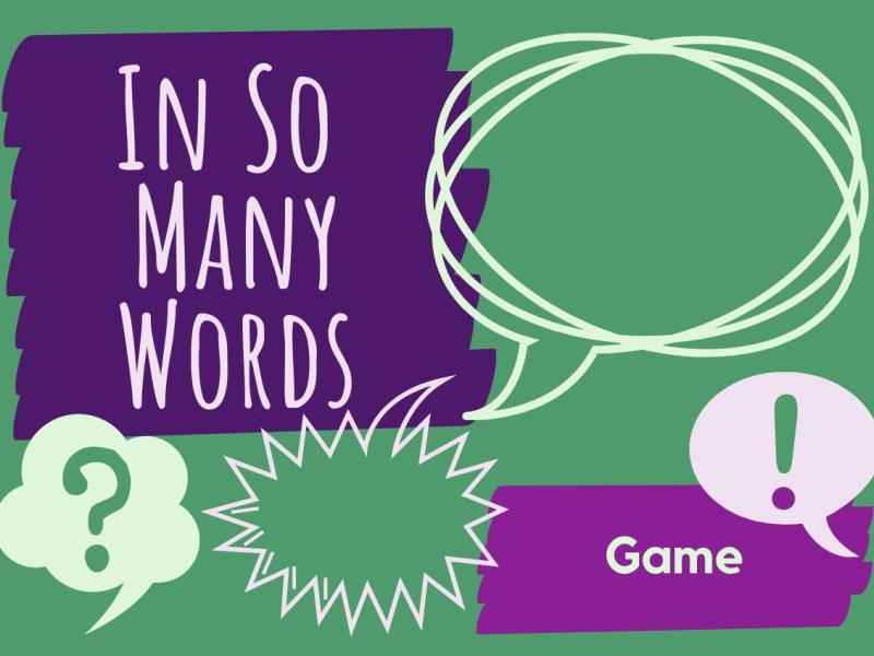 In So Many Words Game