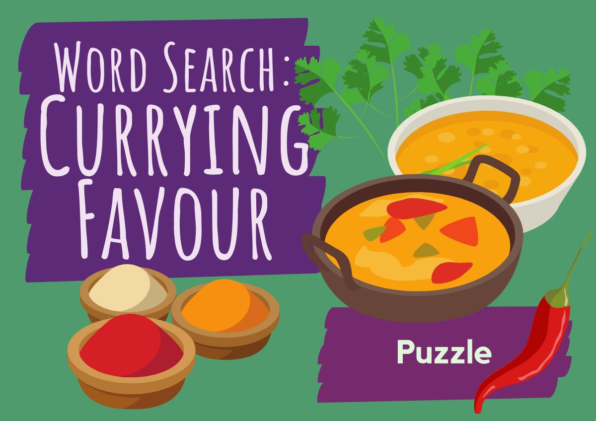Word Search - Currying Favour