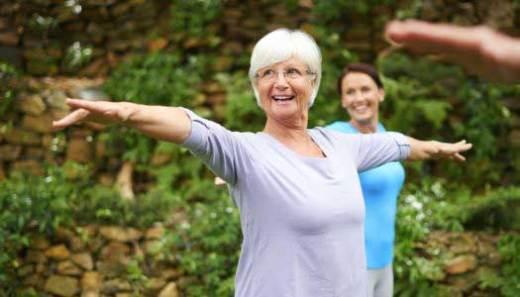 elderly flexibility