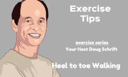 Heel To Toe Balance Exercise For Seniors