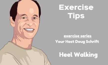 Senior Balance Exercise Heel Walking