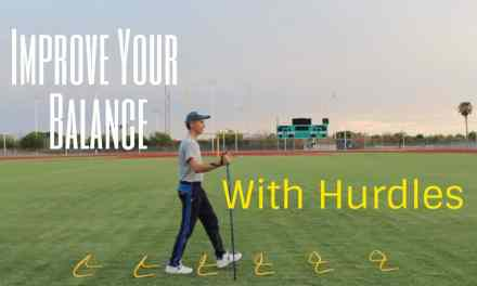 How to Improve Your Balance With Hurdles