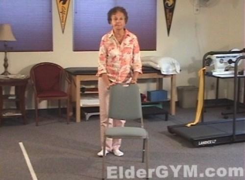 Hip side raises start position