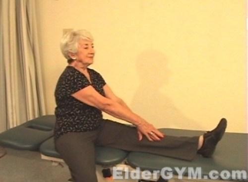 Hamstring Stretch end