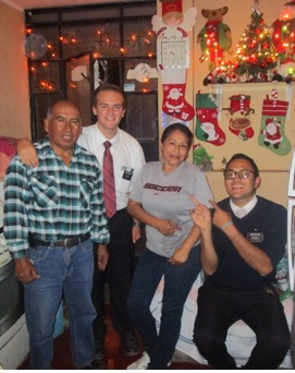 Christmas dinner with Family Vilches!