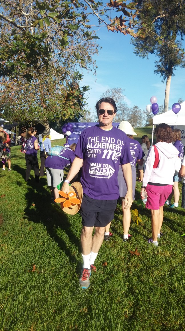 Jim Stout Alzheimers Walk 1