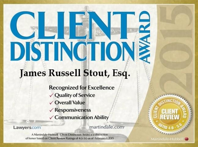 Client Distinction 2015