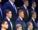 My brother and I singing in the MTC Choir during the Priesthood Session, October 4, 2014