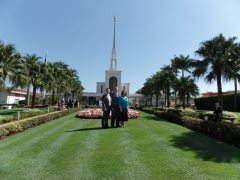 With Elder and Sister Whitaker