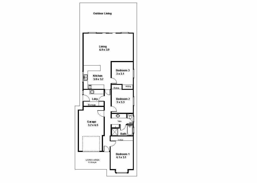 medium resolution of 19 tenth street renmark sa 5341 floorplan 1