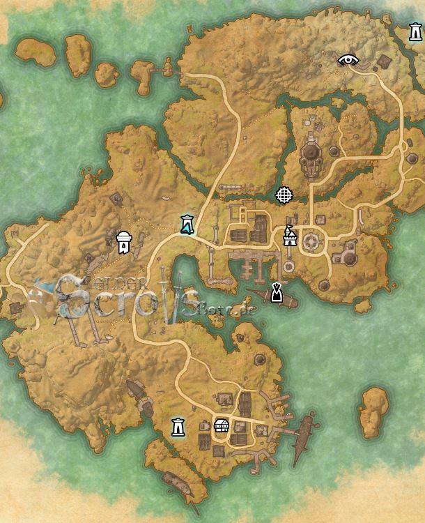 Stros M Kai Map : stros, Quest-Guide:, Izads, Schatz, (Izad's, Treasure)