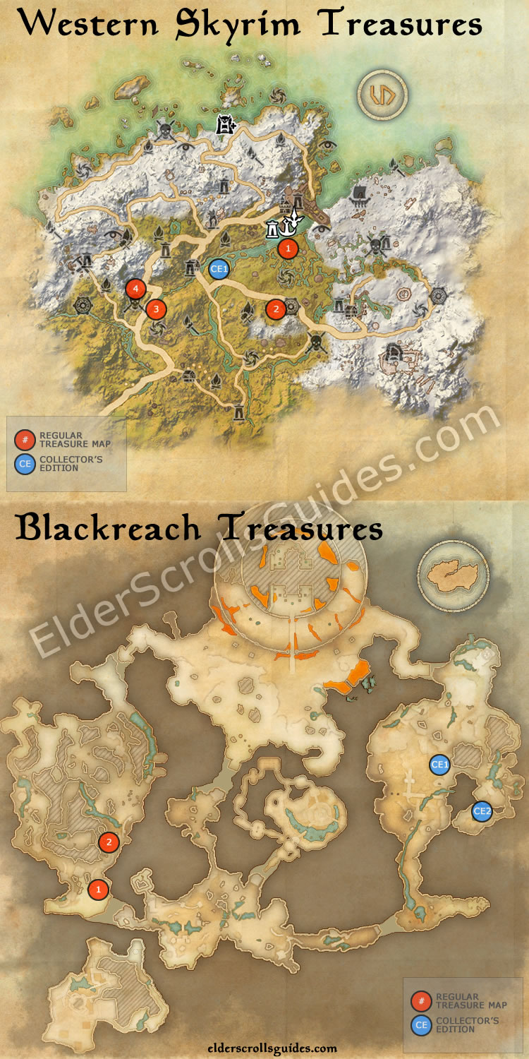 eso vvardenfell treasure map 4 - Bing