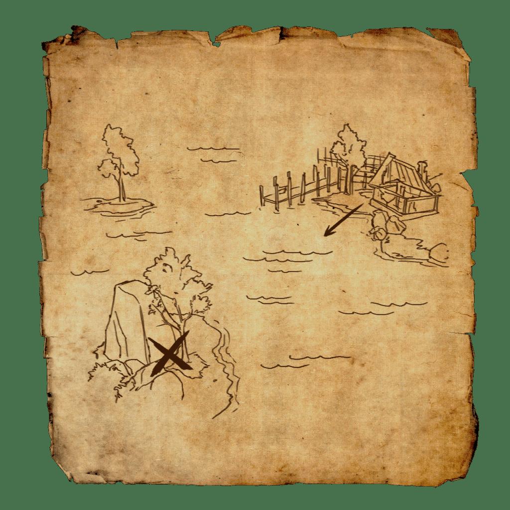 Glenumbra Treasure Map I