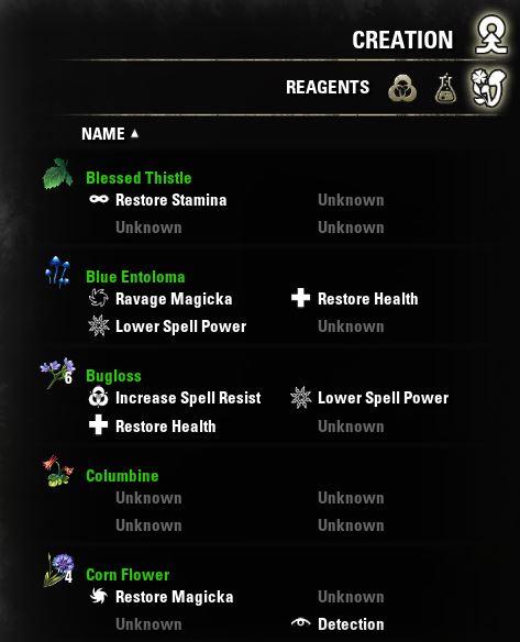 Eso Ravage Stamina : ravage, stamina, Elder, Scrolls, Online, Alchemy, Guide, Herbs, Properties, Radio