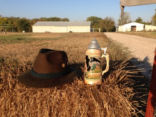 Beer Stein and hat