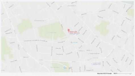 Elder Stubbs Charity A~llotments Location