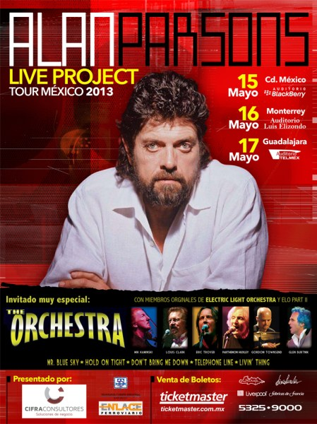 ALAN PARSONS & THE ORCH.FLYER GIRA-