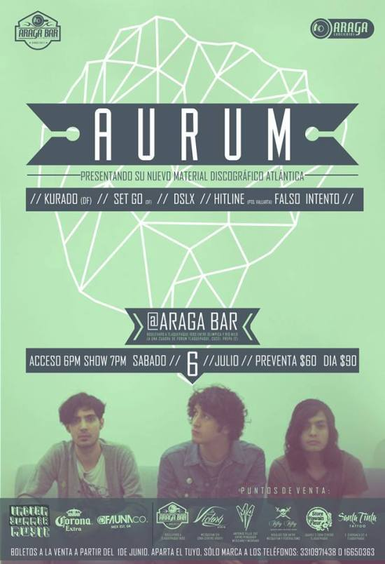 Aurum @ Atlantica Bar, 6 de julio