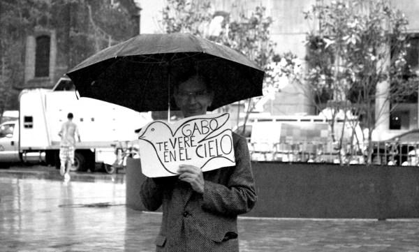 Homenaje a García Márquez en el Palacio de Bellas Artes / Foto: Razi Marysol Machay
